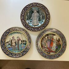 Set of 3 Russian Fairy Tales Plates Heinrich Villeroy & Boch