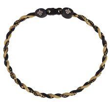 New Orleans Saints - Logo Titanium Twist 18 Necklace