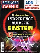 SCIENCES ET AVENIR N°793 MARS 2013  L'EXPERIENCE QUI DEFIE EINSTEIN/ FUKUSHIMA