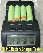 BM110 Intelligent Digital Battery Charger Tester LCD Multifunction for 4 AA AAA