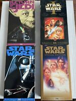 Lot Of 4 Star Wars VHS Tapes Great Condition