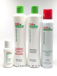 CHI enviro Smoothing treatment kit virgin hair similar like Brazilian blowout