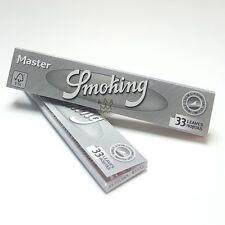 10 SMOKING MASTER KING SIZE EXTRA SLIM Rolling Paper