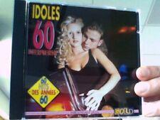 """Cd audio """"IDOLES 60"""" Interprètent les années 60"""