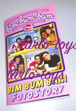BIM BUM BAM 2000s italy photo book - foto story libro fotografico Uan D'Avena