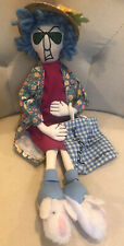 "Hallmark Plush Maxine ""Don'T Worry Be Crabby"" Stffd Doll 16"" Old Lady Guc Cllctb"