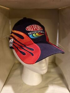 Jeff Gordon Chase Authentics DuPont 200th Anniversary NASCAR Embroidered Hat NEW