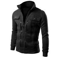 NEW Jacket Autumn Winter Men Coat Outwear WARM Slim Casual Tops Casual Fashion