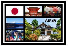 JAPAN - SOUVENIR NOVELTY FRIDGE MAGNET - SIGHTS / TOWNS - GIFT - BRAND NEW