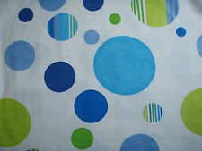 85cm Designers Guild Notting Hill Cotton Curtain Fabric Remnant