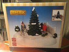 Lemax Skateboard Mushers  Animated Holiday Village