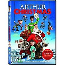 Arthur Christmas DVD - Childrens Kids Family Festive Santa Elves Magic **NEW**