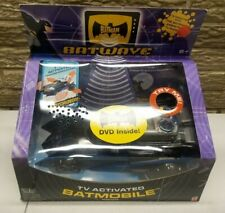 BATMOBILE Batwave Batman MATTEL 2004 TV Activated vehicle DC UNIVERSE