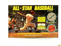 Vintage 1968 All Star Baseball Game Board Game Cadaco Complete