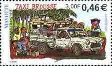 Timbre Voitures Mayotte 99 ** année 2001 lot 22639
