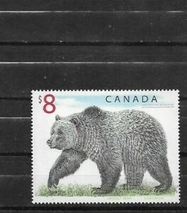 pk63409:Stamps-Canada #1694 Grizzly Bear $8.00 Definitive Issue - MNH