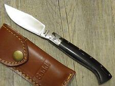 KNIFE COLTELLO 19 CM SARDEGNA SARDO ARBURESA MANICO IN CORNO BUFALO ARBUS