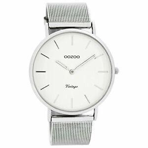 Armbanduhr Oozoo Damen Digital Quarz Edelstahlarmband C7724  OVP/Zubehör fehlt
