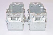 Lot of 2 Steel City CDOWTG-25 Switch Box, Gangable, 2-1/2'' Deep, Conduit Knocko