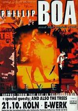 PHILLIP BOA TOURPOSTER TOURPLAKAT EXILE ON VALLETTA STREET KÖLN 1991