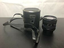 Super paragon PMC auto zoom lens 1:3.5-4.5 f=28-50mm case vintage camera old