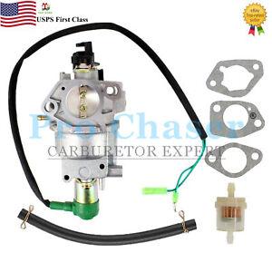 Steele SP-GG750E 7500 13hp 389cc Generator Carburetor Carb