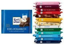 Ritter Sport Chocolate - four (4) bars of your choice
