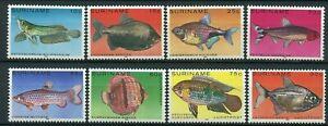 Surinam Scott 557-561, C92-C94 tropical fish MNH 1980