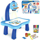 Kid Toy Painting Drawing Table Led Projector Music Toys Kids Arts Crafts