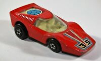 Matchbox Superfast No 35 Fandango Rolamatic in Red, Blue Fan Diecast Car C11