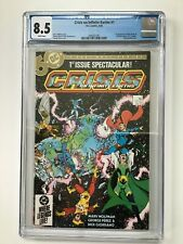 DC CRISIS ON INFINITE EARTHS COMPLETE SET 1-12 CGC 9.2 - 8.0, One issue is 6.5.