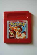 CONSOLE NINTENDO GAME BOY JEU POKEMON VERSION ROUGE