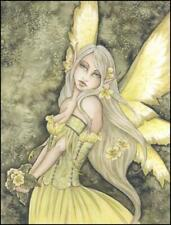 Amy Brown Green Fairy Collectible Postcard Art Print *Mint