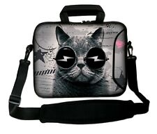 """LUXBURG 14"""" Inches Design Laptop Sleeve With Shoulder Strap & handle #GM"""
