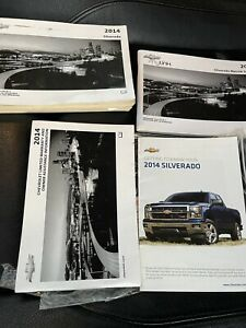 2014 14 CHEVY CHEVROLET SILVERADO TRUCK OWNER'S MANUAL OEM BOOKS 1500 2500