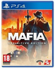 MAFIA I DEFINITIVE EDITION PS4 GIOCO ITALIANO REMAKE PLAYSTATION 4 VIDEOGIOCO EU
