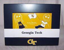 GEORGIA TECH YELLOWJACKETS Navy Blue & Gold 6 x 4 Photo Frame GT Picture BURNES