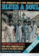 Tavares Blues & Soul Issue 210 1976 The Four Tops Stevie Wonder The Fatback Band