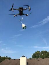 DJI MAVIC PRO STEALTH BOMB DROPPER DRONE RELEASE HOOK SOLID METAL ONLY 12 GRAMS!