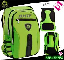 SAC À DOS GAMING KEEP OUT 15,6 NYLON VERT FLUOR BK7FG QUALITÉ PROFESSIONNEL