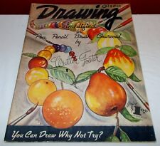 Vintage DRAWING SIMPLIFIED Walter T. Foster How To Draw Paperback Book  ^