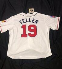 Cleveland Indians Bob Feller 1948 # 19 MLB Jersey Size XL