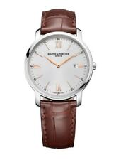 Baume and Mercier Classima Executives Men's Swiss Quartz Slim Watch MOA10144