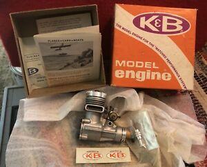 Vintage K&B Series 71 No. 6712 Veco .19 RC Model Engine NEW IN BOX