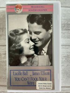You Can't Fool Your Wife VHS Lucille Ball James Ellison Robert Coote 1940 B&W