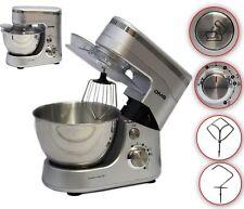 Küchenmaschine Rührmaschine Knetmaschine Teigkneter Silber 5L, 1400 W DMS®