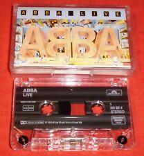 ABBA - CASSETTE TAPE - LIVE
