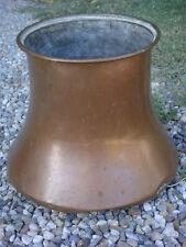 Cache pot en cuivre hauteur 26 cm ancien