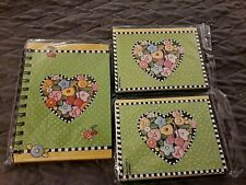"3 pc.Set, Mary Engelbreit ""Cherry"" Journal and 2 Pkgs. Notecards, New, Sealed!"