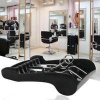 Salon Shears Stand Rack Case Hair Scissor Holder Organizer Storage Tray